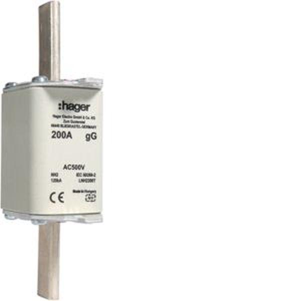 HAGER NH2C-Sicherungseinsatz 200A LNH2200T