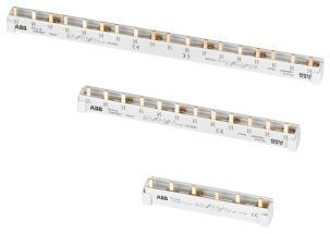 ABB PS3//12 Phasenschiene 3-phasig 12Pins 10mm² 2CDL231001R1012