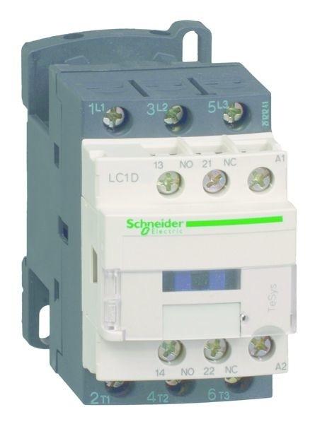Schneider Leistungsschütz 3p+1S+1Ö 7,5kW/400V/AC3 LC1D18BL ...